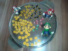 Meine Mario & Luiggi Figuren aus Fondant