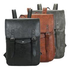 Rucksack Bag, Men's Backpack, Messenger Bag, Travel Accessories, Backpacks, Casual, Leather, Bags