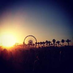 Coachella....sure there is music but there are also celebrities!!