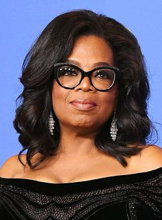 If you're looking to get your eyewear game on-par with Oprah Winfrey, these glasses fit the bill, whether you're looking to splurge or stick within a budget. Oprah Glasses, Fake Glasses, Glasses Frames, Oprah Winfrey, G Strings, Black Women Fashion, Latest Fashion For Women, Girl Fashion, Womens Fashion
