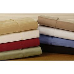 Simple Elegance 800 Thread Count Striped Pillowcase Set