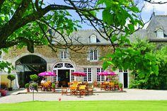 Camping***** Le Domaine des Ormes - Epiniac #Camping #Bretagne #Dol #Terasse #Vacances