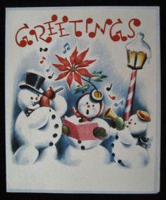 Musician snowmen