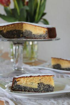 Makovo vanilkový koláč s jablky - TASTE Actually Tiramisu, Cheesecake, Ethnic Recipes, Fit, Shape, Cheesecakes, Tiramisu Cake, Cherry Cheesecake Shooters