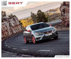 Zadbaj o wizerunek swojego auta na drodze, wyróżniaj się w każdy możliwy sposób! #SEAT #LeonST #CUPRA