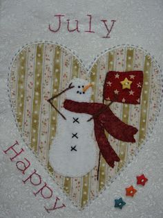 Patchwork Allsorts: Snow Happy Heart Quilt