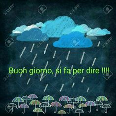 Good Night, Good Morning, Italian Memes, Singing In The Rain, New Years Eve Party, Neck Design, Dolce, Clay Art, Motivational Quotes
