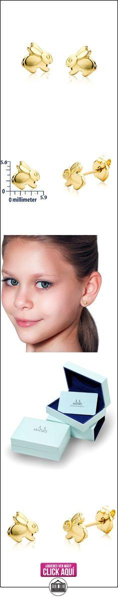 Miore - Pendientes de niño de oro amarillo (18k)  ✿ Joyas para niñas - Regalos ✿ ▬► Ver oferta: https://comprar.io/goto/B004K6KYS8