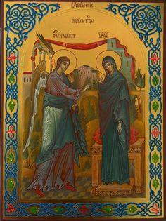 The Annunciation - Olga Karepova