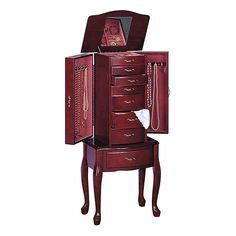Coaster Queen Anne Deluxe Jewelry Armoire @ Kohl's