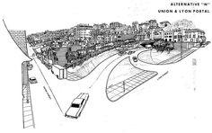 Alternative N: Union & Lyon Portal, San Francisco Crosstown Tunnel Freeway (1964) by Eric Fischer, via Flickr
