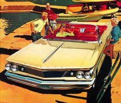 1960 Pontiac Bonneville Convertible Coupe