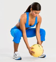 15 minutes to flatter abs (without crunches) – med ball exercises | REPINNED