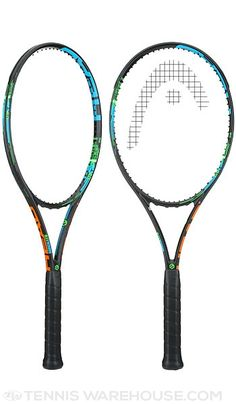 This new limited edition Head Graphene Radical tennis racquet features one of the coolest looking cosmetics we've seen!