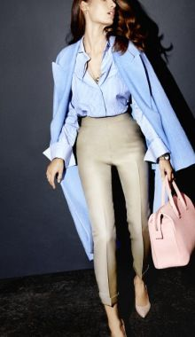 Two Fresh Office Looks For SpringThe Perfect Equations To Dress...