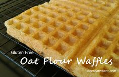 Gluten free and dairy free breakfast idea. Made from oat flour & coconut flour. Great way to eat your oatmeal ;)