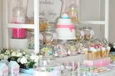 A festa de 2 anos da baby C - Carlota's Candy Shop