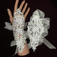 Cheap lace purse, Buy Quality glove bag directly from China lace bridal gloves Suppliers: Product Lace Purse, Wedding Gloves, Lace Gloves, Bridal Lace, Bridal Accessories, Wedding Events, Elegant, Flower, Beautiful