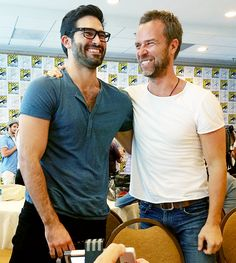 Teen Wolf ~ Tyler Hoechlin and JR Bourne - SDCC 2014