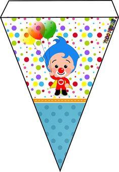banderines-de-plim-plim-para-descargar-gratis-ideas-decoracion-plim-plim-moldes-plim-plim-cumpleanos-fiestas-imagenes-plim-plim Circus Birthday, 2nd Birthday, Birthday Parties, Vintage Jeep, Lightning Mcqueen, Disney Cars, Daniel Tiger Party, Unique Baby Shower Themes, Baby Posters