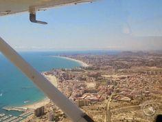Vuelo en avioneta en Alicante
