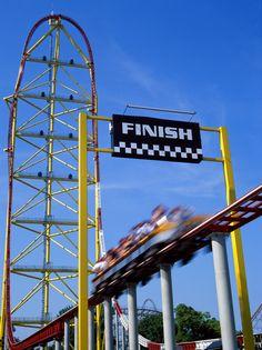 Top Thrill Dragster - Cedar Point, Ohio