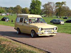 148 Ford Escort Mk.1 Nimbus (1974) Escort Mk1, Ford Escort, Classic Car Show, Ford Classic Cars, Weston Park, Austin Cars, Classic Campers, Red Vans, Vintage Vans