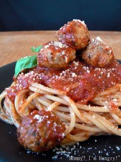 The Best Ever Spaghetti and Meatballs
