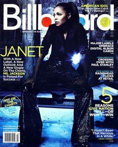Billboard Magazine, 2008 – Janet Jackson