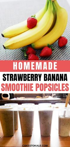 Easy homemade smoothie popsicles are healthy and delicious. My smoothie popsicle recipe uses fruit, hidden veggies and yogurt. Learn how to make smoothie popsicles for your kids. #smoothiepopsicles #homemade #kidfood Homemade Smoothies, Homemade Popsicles, How To Make Smoothies, Smoothie Popsicles, Smoothie Recipes, Sweet Potato Nachos, Full Fat Yogurt, Banana Chocolate Chip Muffins, Strawberry Banana Smoothie