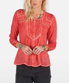 Love this Pistol Punch Black Hole Top by Volcom on #zulily! #zulilyfinds