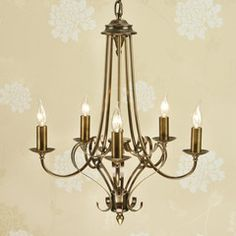 Bathroom Ceiling Lights Wilkinsons wilko 5 arm chandelier metal ceiling light fitting cream at wilko