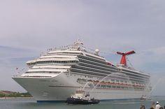 Carnival's Glory on her maiden voyage!   ASPEN CREEK TRAVEL - karen@aspencreektravel.com