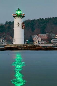 Portsmouth Harbor Lighthouse by Matt Currier