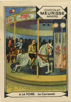 Le Carrousel, collectable card