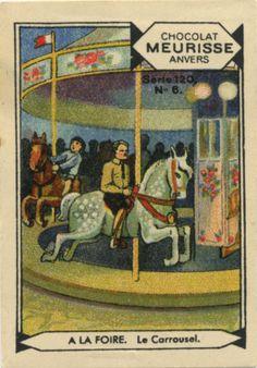 Le Carrousel, collectable card
