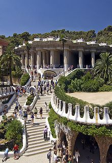 Park Güell, Barcelona, Spain. Loved this place.  I could have spent days there.