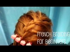 Many people have asked me how I learned to french braid my daughters' hair. (I actually learned from a Barbie hair styles book for kids!!) This video shows the technic in a creative way I never thought of. Browse their other videos and subscribe for some wonderful, easy to create hair styles!