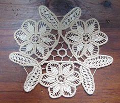 Small patch Smaranda: Romanian lace, crochet