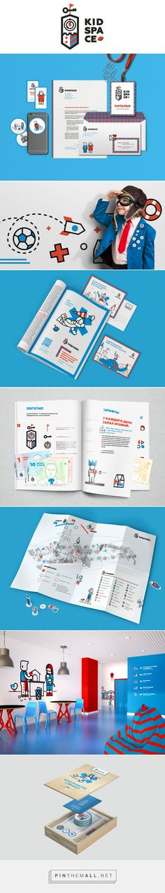 KidSpace - Brand Identity on Behance... - a grouped images picture - Pin Them All
