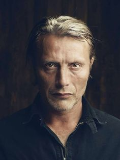 Mads Mikkelsen, studio portraits by Nicolas Guérin May - 2013 at Getty Images in Cannes France
