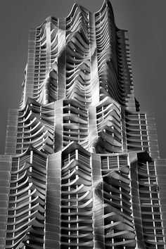 8 Spruce Street, New York by Frank Gehry, is a skyscraper - architecture Unusual Buildings, Interesting Buildings, Amazing Buildings, Modern Buildings, Architecture Unique, Futuristic Architecture, Facade Architecture, Installation Architecture, Classical Architecture