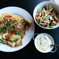 Ostpizza i ugn | Tjockkocken low carb lchf