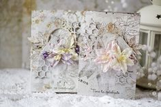 Wedding cards with Chesterville collection by Vera Shelemekh