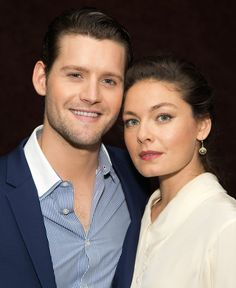 Alexa Davalos, Luke Kleintank - THE MAN IN THE HIGH CASTLE cast