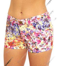 pantaloncini corti donne DENIM MARGHERITA Brillante HOT Taglia 8 10 12 14 16