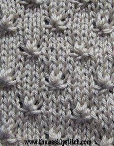Knot Stitch | The Weekly Stitch