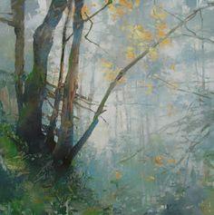 Painter's Process - Randall David Tipton: Iron Mountain Fog