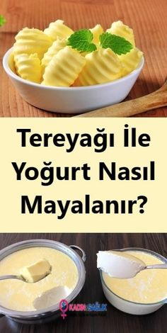 Turkish Kitchen, Best Beauty Tips, Homemade Beauty Products, Butter, Food Presentation, Travel Size Products, Yogurt, Recipies, Food And Drink