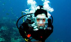 I want to go scuba diving.